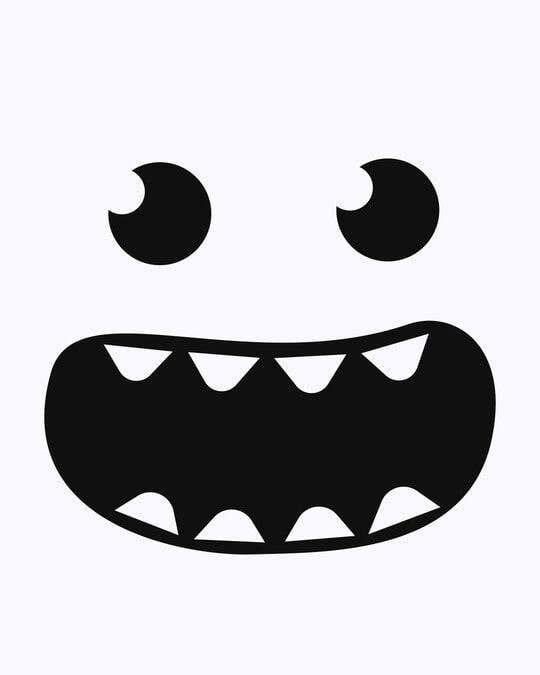 Shop Monster Smiley Full Sleeve T-Shirt