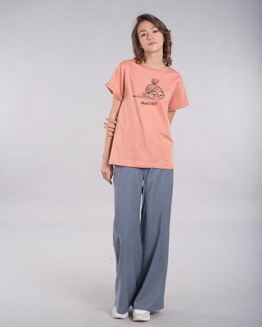 Shop Mood 24x7 Boyfriend T-Shirt-Full