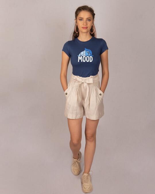 Shop Mood Sadness Half Sleeve T-Shirt (DL)-Design