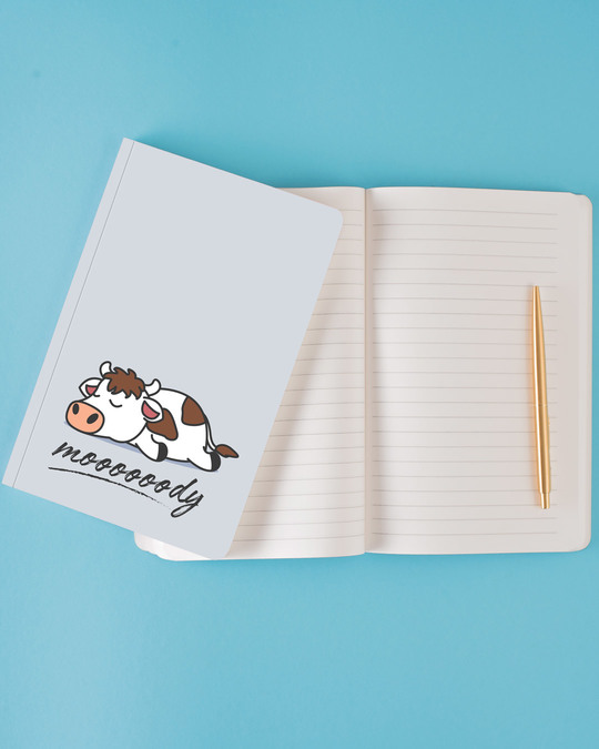 Shop Mooooody Notebook-Design