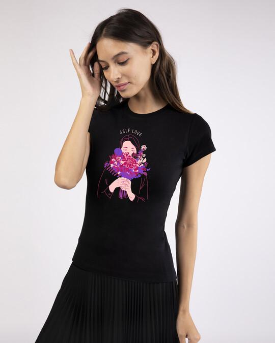Shop More Self Love Half Sleeve T-Shirt-Design