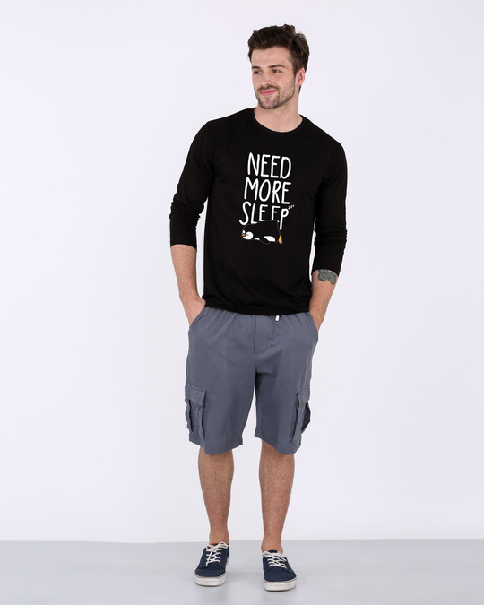 Shop More Sleep Full Sleeve T-Shirt