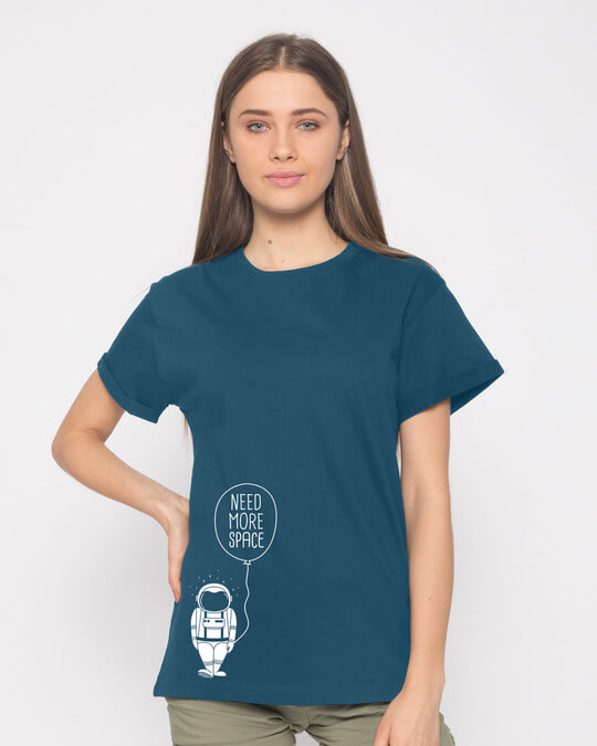 Shop More Space Boyfriend T-Shirt-Front