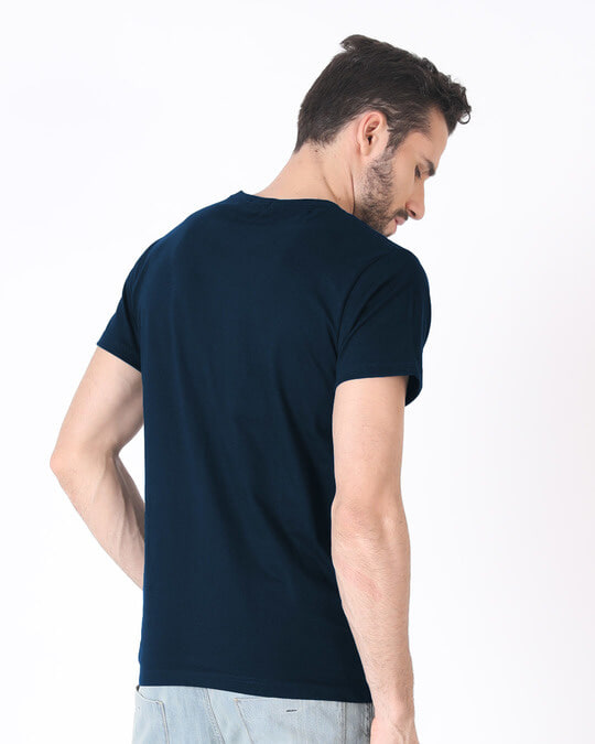 Shop More Space Half Sleeve T-Shirt-Full