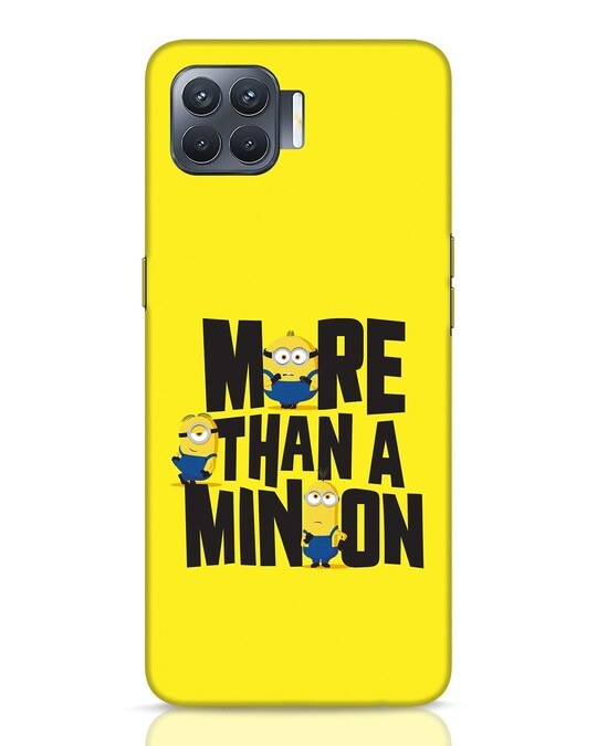 Shop More Than A Minion Oppo F17 Pro Mobile Cover-Front