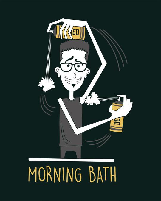 Shop Morning Bath Full Sleeve T-Shirt