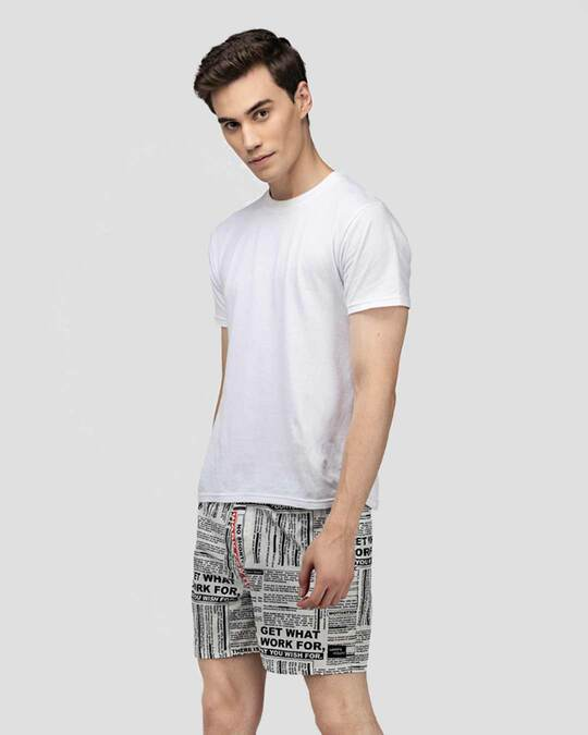 Shop What's Down   Motivational Quotes Boxer Shorts   White Inspiring Boxers-Full