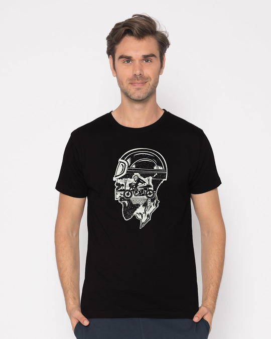 Shop Moto Racer Half Sleeve T-Shirt-Back