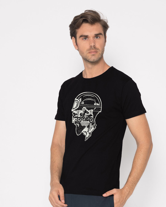 Shop Moto Racer Half Sleeve T-Shirt-Full