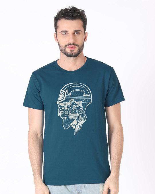Shop Moto Racer Half Sleeve T-Shirt-Back