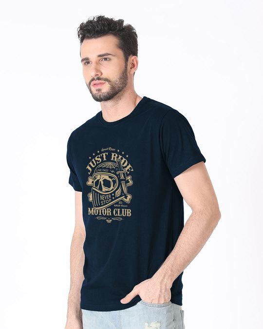 Shop Motor Club Half Sleeve T-Shirt-Design