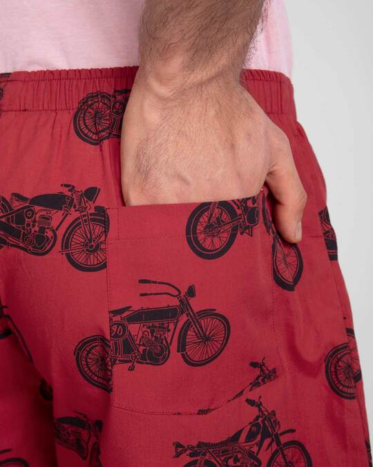 Shop Motor Way All Over Printed Boxer-Full