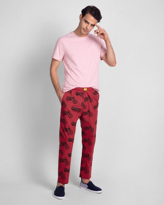Shop Motor Way All Over Printed Pyjama-Full