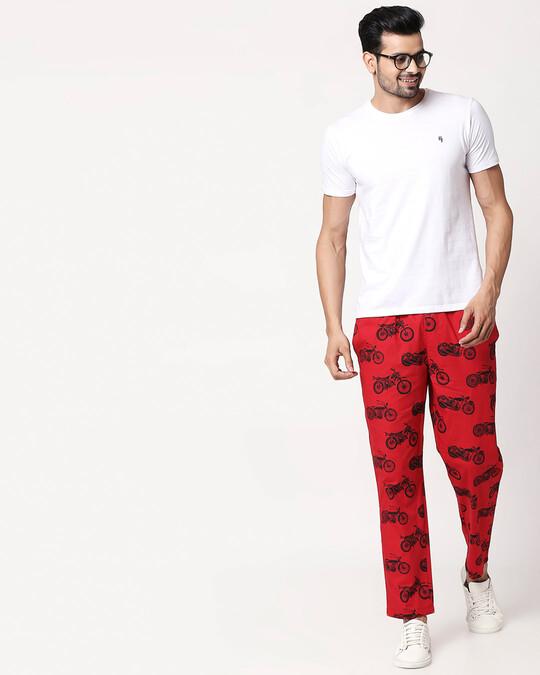 Shop Motor Way All Over Printed Pyjama