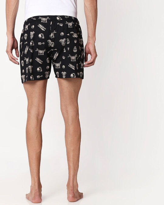 Shop Motorhead All Over Printed Boxer-Full
