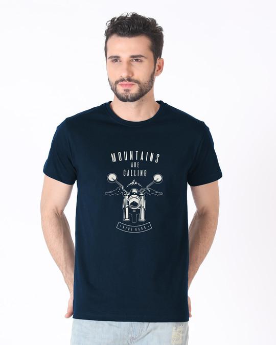 Shop Mountain Bike Half Sleeve T-Shirt-Back