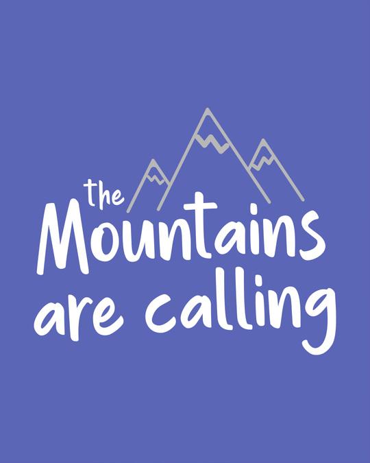 Shop Mountain Calling Boyfriend T-Shirt
