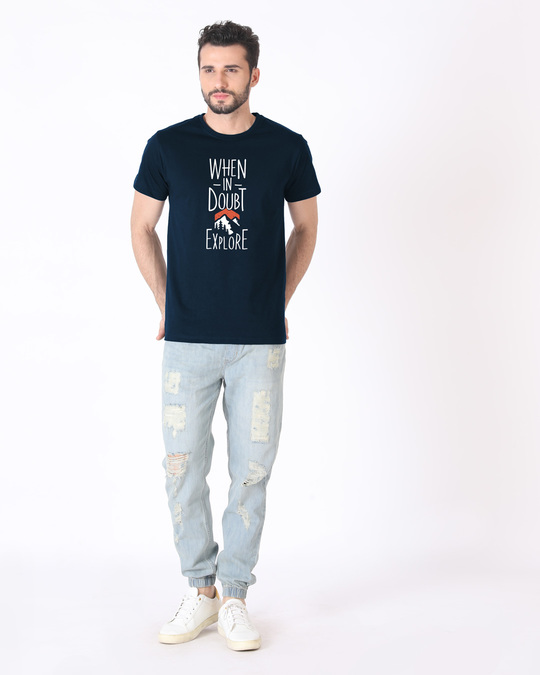 Shop Mountain Explorer Half Sleeve T-Shirt