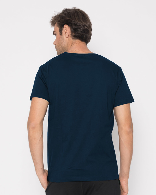 Shop Mountain Lights Half Sleeve T-Shirt