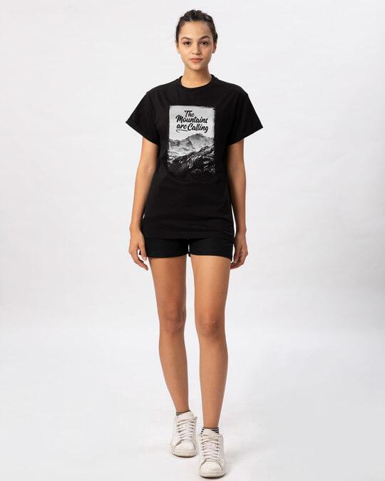 Shop Mountain Travels Boyfriend T-Shirt