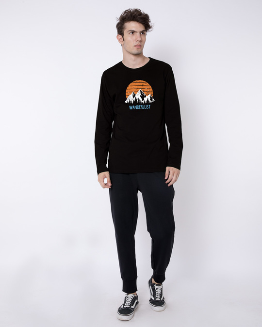 Shop Mountain Wanderlust Full Sleeve T-Shirt-Full