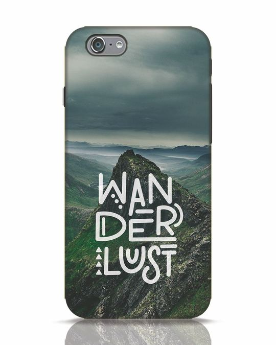 Shop Mountain Wanderlust iPhone 6 Mobile Cover-Front