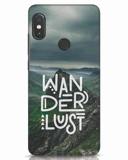 Shop Mountain Wanderlust Xiaomi Redmi Note 5 Pro Mobile Cover-Front