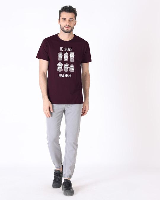 Shop Movember Half Sleeve T-Shirt