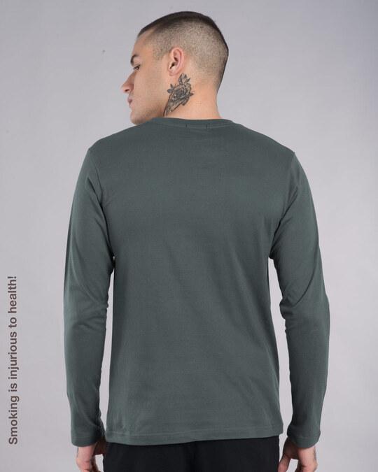 Shop Mr. Beard Man Full Sleeve T-Shirt-Back