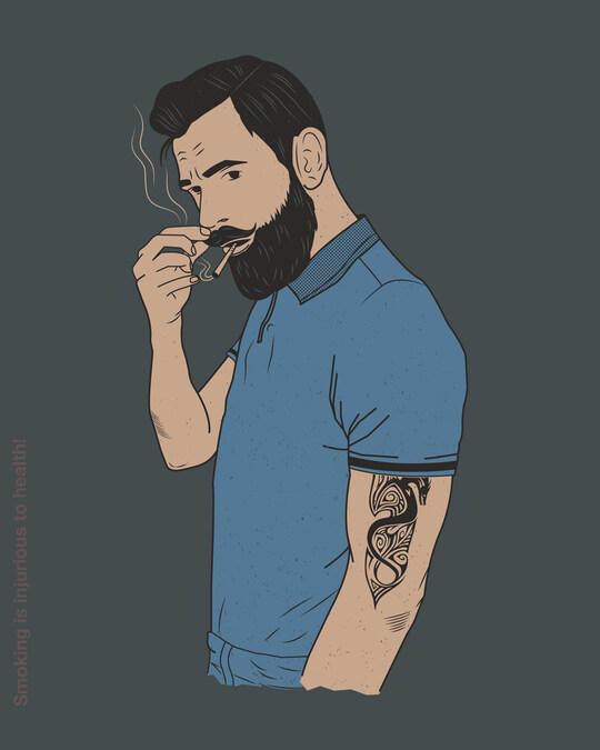 Shop Mr. Beard Man Full Sleeve T-Shirt