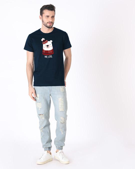 Shop Mr.cool Bear Half Sleeve T-Shirt