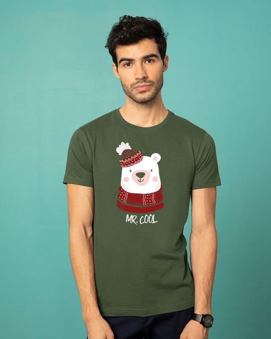 Shop Mr.cool Bear Half Sleeve T-Shirt-Back