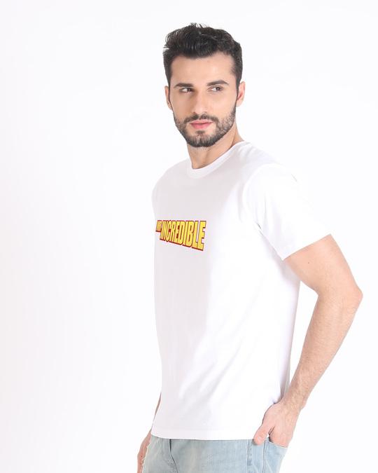 Shop Mr Incredible Typo Half Sleeve T-Shirt (DL)-Full