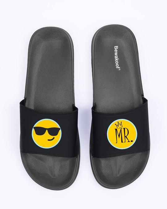 Shop Mr. Men's Printed Lightweight Sliders-Full