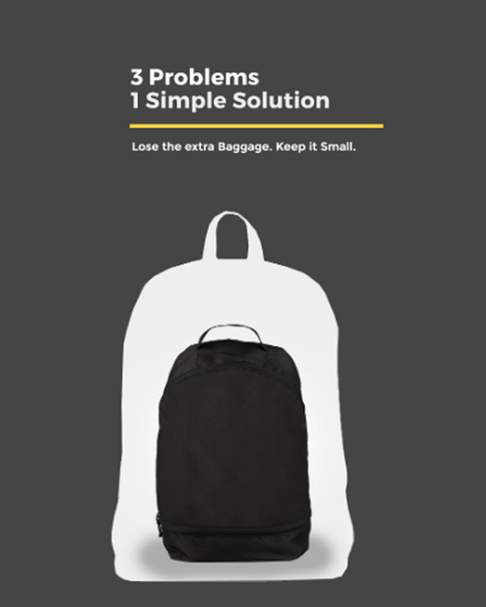 Shop Mr. Perfection Printed Small Backpack-Design