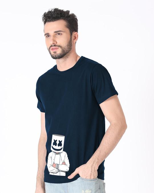 Shop Mrshmello Character Half Sleeve T-Shirt-Full