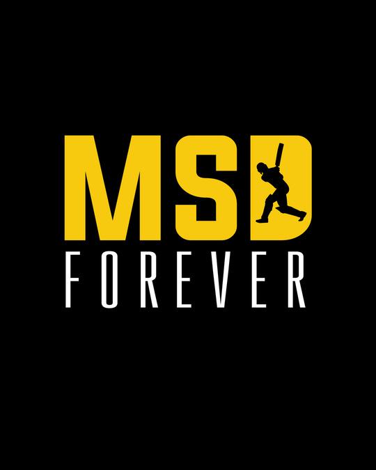 Shop MSD Forever Front-Back Boyfriend T-Shirt Black