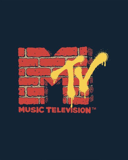 Shop Mtv Wall Full Sleeve T-Shirt (MTL)