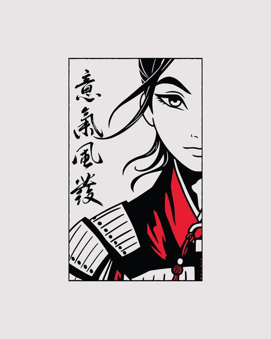 Shop Mulan Face Boyfriend T-Shirt (DL)
