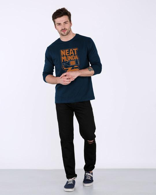 Shop Munda Neat Full Sleeve T-Shirt