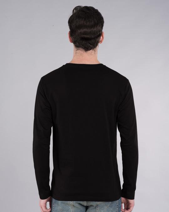 Shop Musafir Doodle Full Sleeve T-Shirt-Back