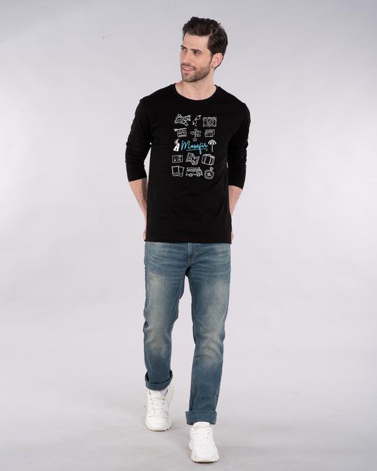 Shop Musafir Doodle Full Sleeve T-Shirt-Design