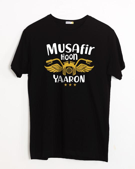 Shop Musafir Half Sleeve T-Shirt-Front