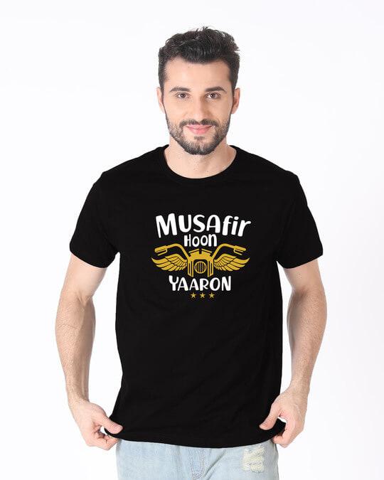 Shop Musafir Half Sleeve T-Shirt-Back