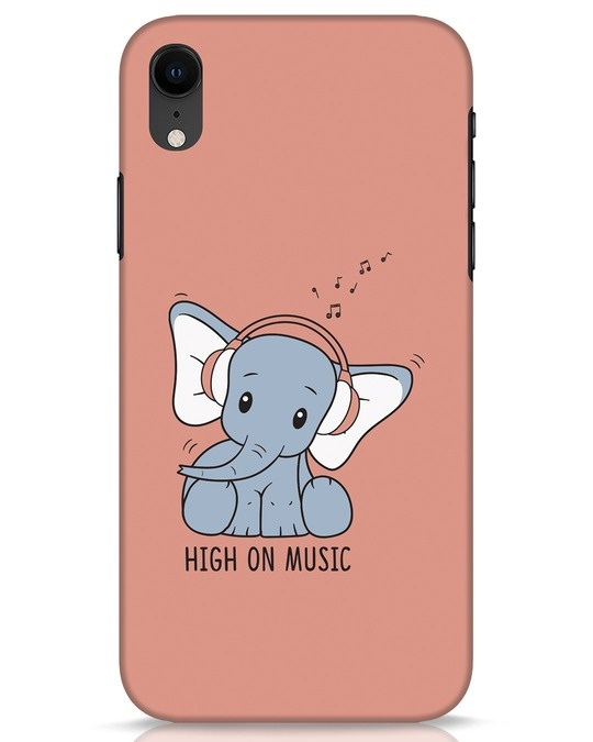 Shop Music Elephant iPhone XR Mobile Cover-Front