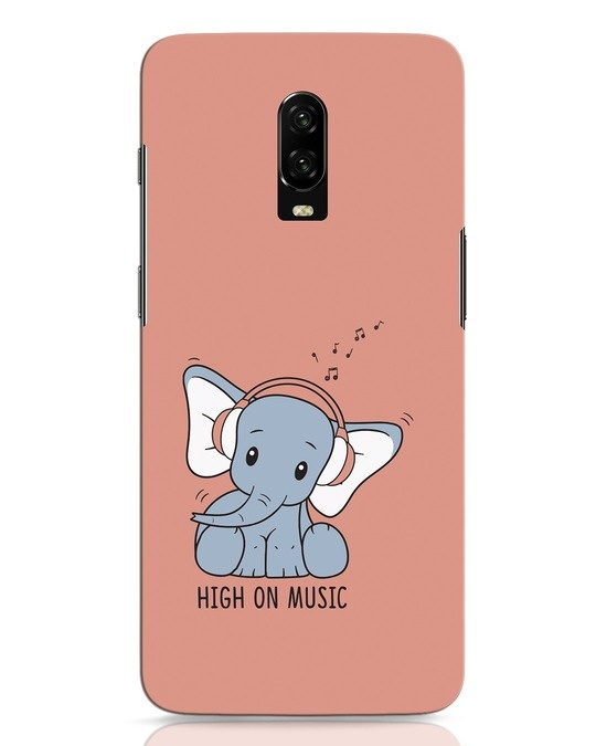 Shop Music Elephant OnePlus 6T Mobile Cover-Front