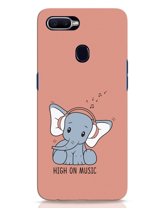 Shop Music Elephant Oppo F9 Pro Mobile Cover-Front