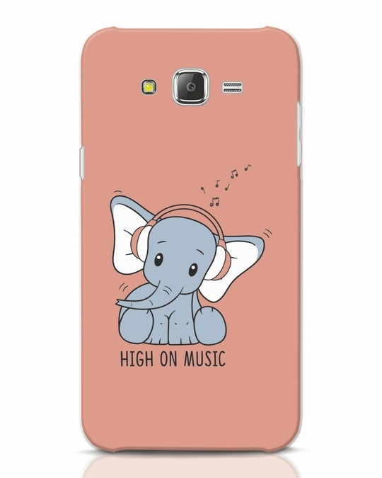 Shop Music Elephant Samsung Galaxy J7 Mobile Cover-Front
