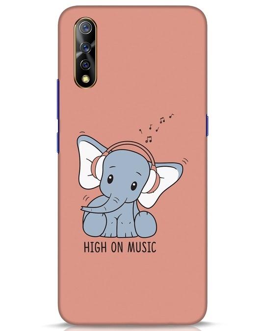 Shop Music Elephant Vivo S1 Mobile Cover-Front
