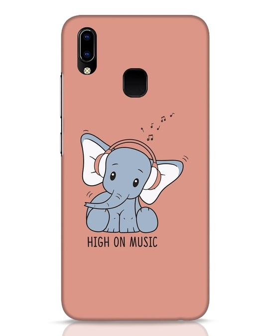 Shop Music Elephant Vivo Y93 Mobile Cover-Front